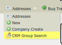 Call CRM search